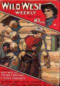 Wild West Weekly (1927-1943 Street & Smith) Pulp Vol. 28 #1