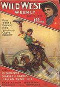 Wild West Weekly (1927-1943 Street & Smith) Pulp Vol. 28 #2