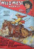 Wild West Weekly (1927-1943 Street & Smith) Pulp Vol. 30 #3