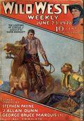 Wild West Weekly (1927-1943 Street & Smith) Pulp Vol. 33 #4