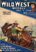 Wild West Weekly (1927-1943 Street & Smith) Pulp Vol. 33 #6
