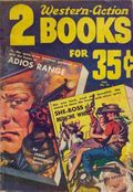 2 Western-Action Books (1951-1954 Fiction House) Pulp Vol. 1 #12
