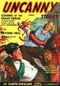 Uncanny Stories (1941 Manvis Publications) Pulp Vol. 1 #1