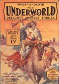 Underworld (1927-1935 Hersey-Carwood) Pulp Oct 20 1927