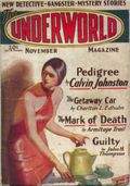 Underworld (1927-1935 Hersey-Carwood) Pulp Nov 1929