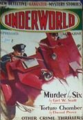 Underworld (1927-1935 Hersey-Carwood) Pulp Sep 1932