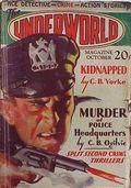Underworld (1927-1935 Hersey-Carwood) Pulp Oct 1932
