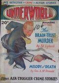 Underworld (1927-1935 Hersey-Carwood) Pulp Oct 1933