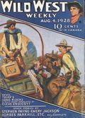 Wild West Weekly (1927-1943 Street & Smith) Pulp Vol. 34 #4