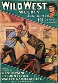 Wild West Weekly (1927-1943 Street & Smith) Pulp Vol. 34 #6