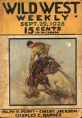 Wild West Weekly (1927-1943 Street & Smith) Pulp Vol. 35 #6