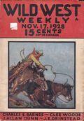 Wild West Weekly (1927-1943 Street & Smith) Pulp Vol. 37 #1