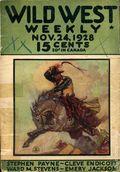 Wild West Weekly (1927-1943 Street & Smith) Pulp Vol. 37 #2