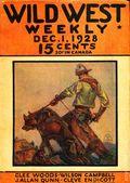 Wild West Weekly (1927-1943 Street & Smith) Pulp Vol. 37 #3