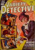 Variety Detective Magazine (1938-1939 Ace Magazines) Pulp Vol. 2 #1