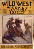 Wild West Weekly (1927-1943 Street & Smith) Pulp Vol. 38 #4