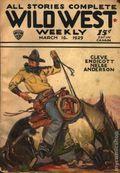 Wild West Weekly (1927-1943 Street & Smith) Pulp Vol. 39 #6