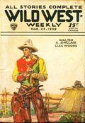 Wild West Weekly (1927-1943 Street & Smith) Pulp Vol. 40 #1