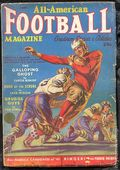 All American Football Magazine (1938-1953 Fiction House) Pulp Vol. 1 #3