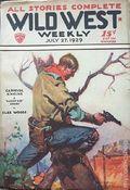 Wild West Weekly (1927-1943 Street & Smith) Pulp Vol. 43 #1