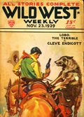 Wild West Weekly (1927-1943 Street & Smith) Pulp Vol. 45 #6