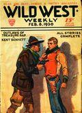 Wild West Weekly (1927-1943 Street & Smith) Pulp Vol. 47 #5