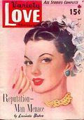 Variety Love Stories (1938-1949 Ace Magazines) Pulp Vol. 18 #3