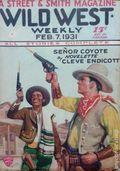 Wild West Weekly (1927-1943 Street & Smith) Pulp Vol. 56 #3