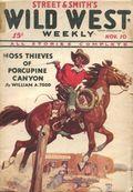 Wild West Weekly (1927-1943 Street & Smith) Pulp Vol. 89 #1