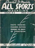All Sports Magazine (1936-1937 Columbia Publications) The Cavalcade of Sports Vol. 1 #3