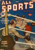All Sports Magazine (1939-1951 Columbia Publications) Pulp Vol. 3 #1