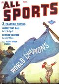 All Sports Magazine (1939-1951 Columbia Publications) Pulp Vol. 4 #3