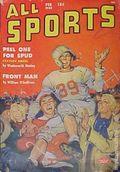 All Sports Magazine (1939-1951 Columbia Publications) Pulp Vol. 5 #4