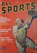 All Sports Magazine (1939-1951 Columbia Publications) Pulp Vol. 5 #6