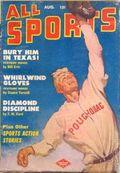 All Sports Magazine (1939-1951 Columbia Publications) Pulp Vol. 6 #1