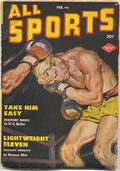 All Sports Magazine (1939-1951 Columbia Publications) Pulp Vol. 6 #4