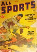 All Sports Magazine (1939-1951 Columbia Publications) Pulp Vol. 7 #1