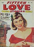 Fifteen Love Stories (1949-1955 Fictioneers) Pulp Vol. 3 #4
