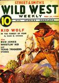 Wild West Weekly (1927-1943 Street & Smith) Pulp Vol. 106 #5