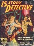 15 Story Detective (1950-1951 Popular Publication) Pulp Vol. 2 #4