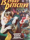 15 Story Detective (1950-1951 Popular Publication) Pulp Vol. 3 #1