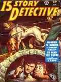 15 Story Detective (1950-1951 Popular Publication) Pulp Vol. 3 #2