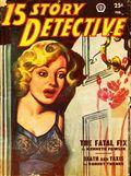 15 Story Detective (1950-1951 Popular Publication) Pulp Vol. 4 #1