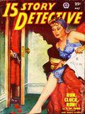 15 Story Detective (1950-1951 Popular Publication) Pulp Vol. 4 #2