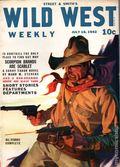 Wild West Weekly (1927-1943 Street & Smith) Pulp Vol. 155 #6