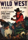 Wild West Weekly (1927-1943 Street & Smith) Pulp Vol. 156 #1
