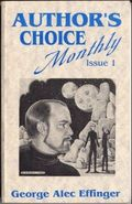 Author's Choice Monthly HC (1989-1992 Pulphouse) 1-1ST