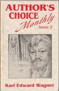 Author's Choice Monthly HC (1989-1992 Pulphouse) 2-1ST
