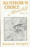 Author's Choice Monthly HC (1989-1992 Pulphouse) 21-1ST