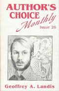 Author's Choice Monthly HC (1989-1992 Pulphouse) 26-1ST